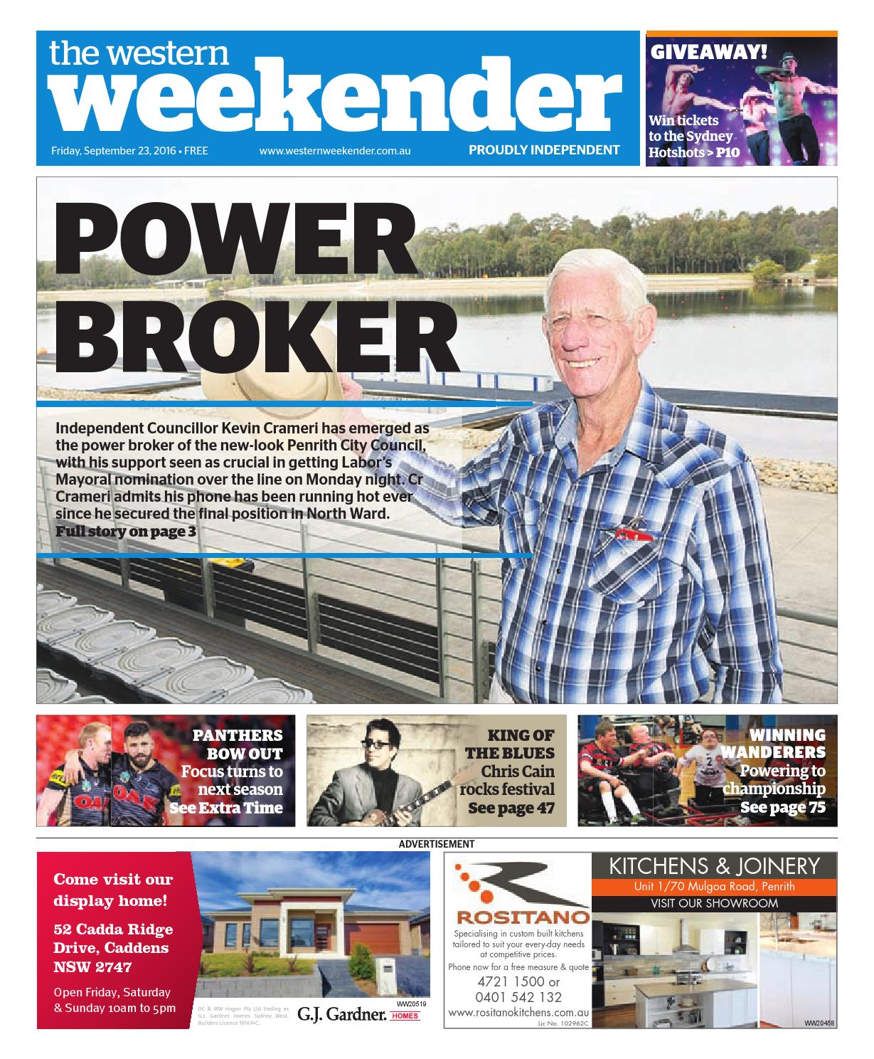 Weekender September 23 by Western Sydney Publishing Group - issuu a548cb79a