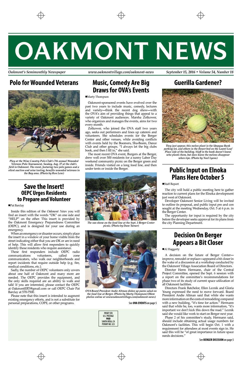 september 15 finished pages by oakmont village issuu