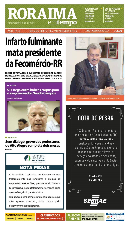 8373946c198bc Jornal roraima em tempo – edição 441 – período de visualização gratuito by  RoraimaEmTempo - issuu