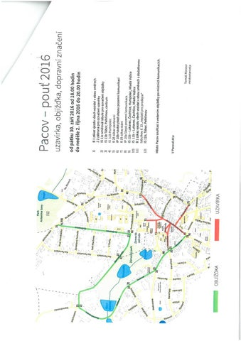 Mapa Pacovska Pout By M Pacov Issuu