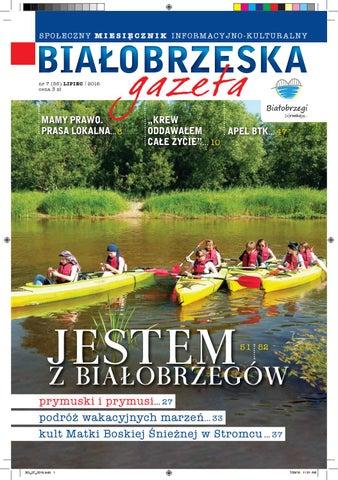 Białobrzeska Gazeta 7 2016 By Białorzeska Gazeta Issuu