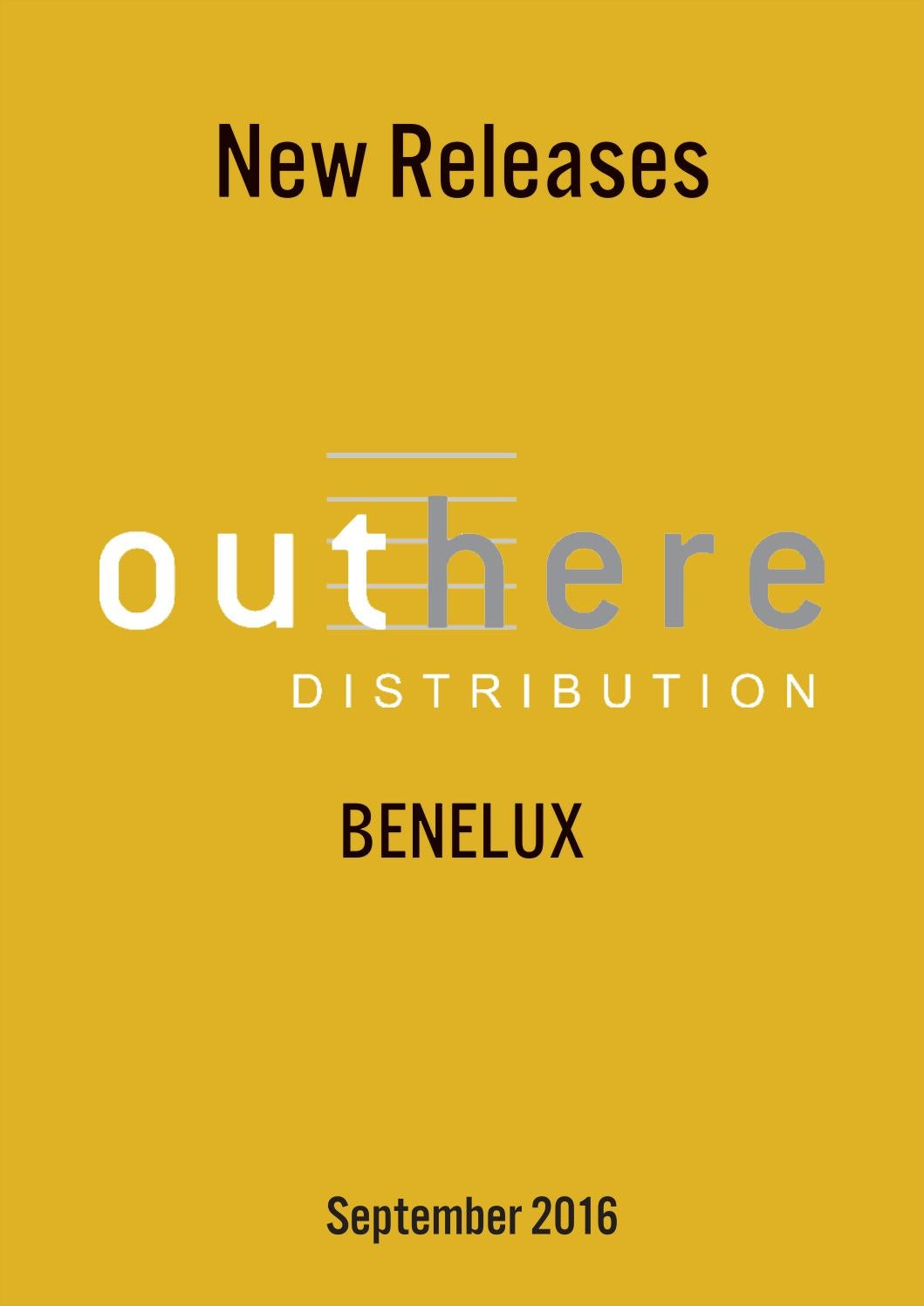 Release Book Outhere Distribution BENELUX September 2016