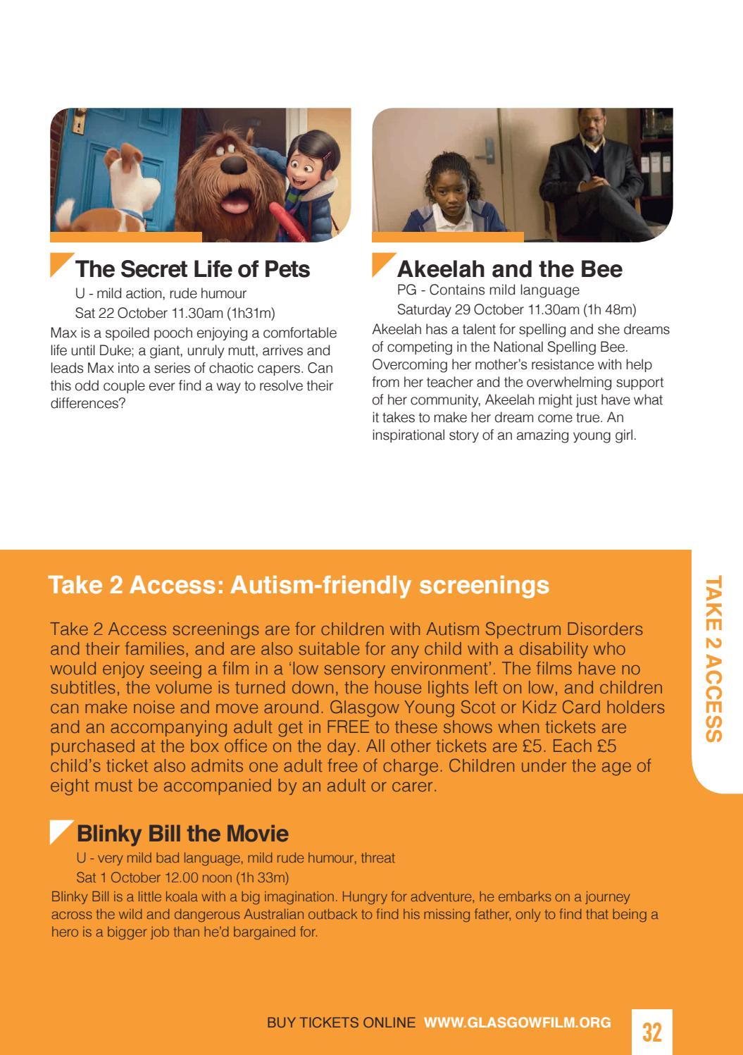 GFT Brochure October 2016 by Glasgow Film - issuu