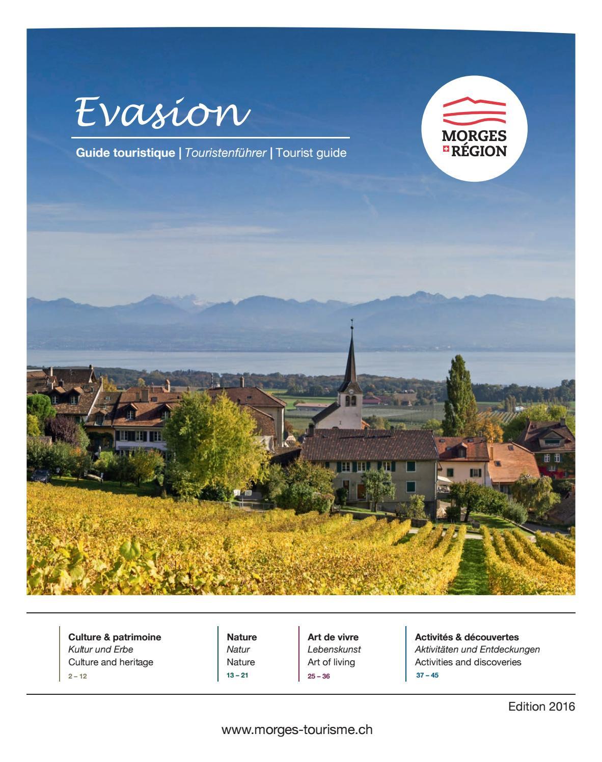 Guide Morges Region 2016 by Région du Léman, Lake Geneva ...