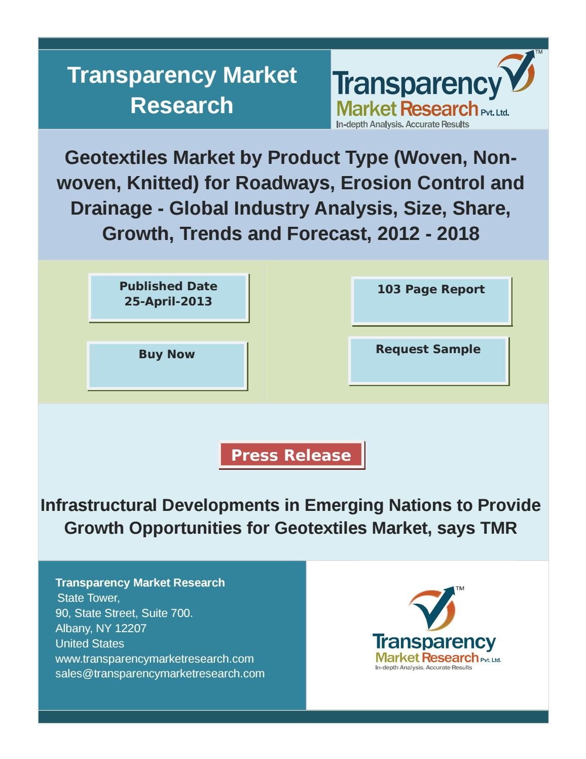 Global geotextiles Market is anticipated to reach USD 6 4