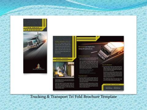 Company Profile Perusahaan Bisnis Transportasi Kargo Freight