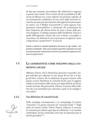 Rendere Generativo Il Lavoro Sociale By Edizioni La Meridiana Issuu