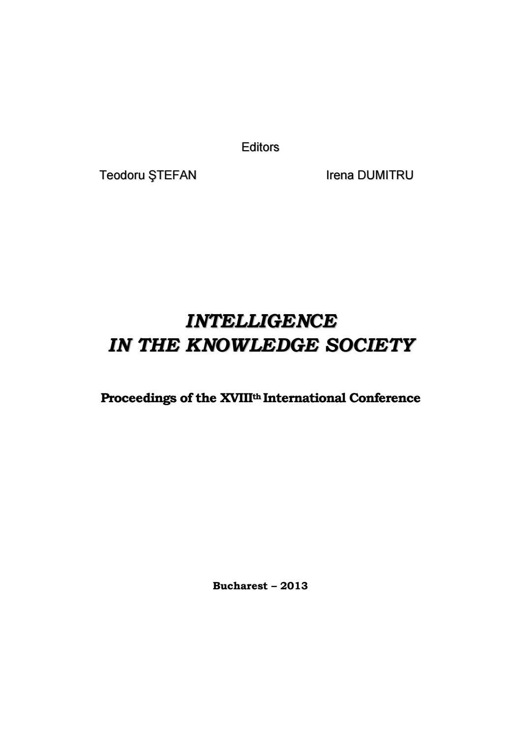 From Research Policy to Social Intelligence: Essays for Stevan Dedijer