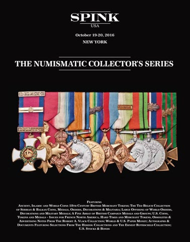 326 The Numismatic Collectors Series Sale By Spink And