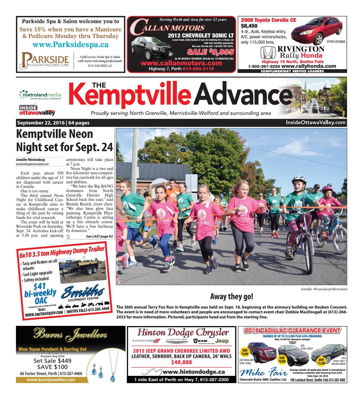 ddaff32b1d2 Kemptville092216 by Metroland East - Kemptville Advance - issuu
