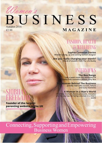 68a755208b5 Women s Business Magazine Autumn 2016 by Maximise Women s Business ...