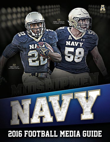 2016 Football Guide by Naval Academy Athletic Association - issuu cbdae10f4