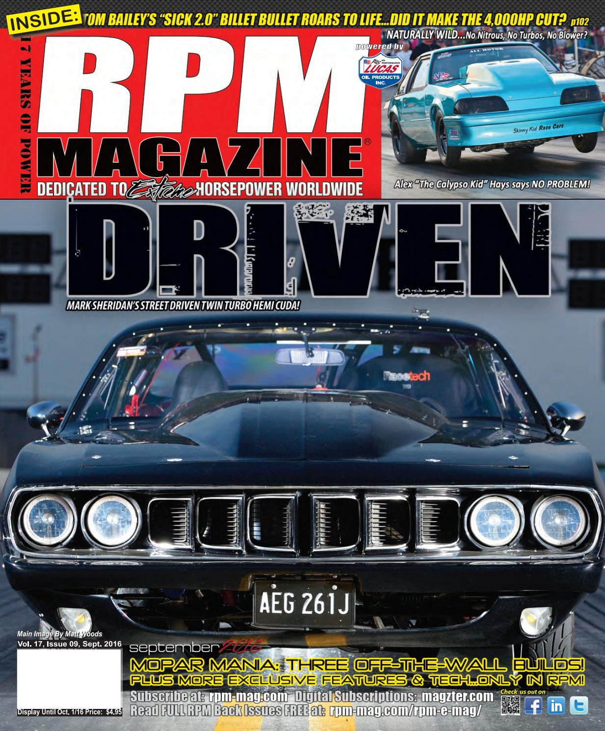 RPM September 2016 by RPM Magazine - issuu
