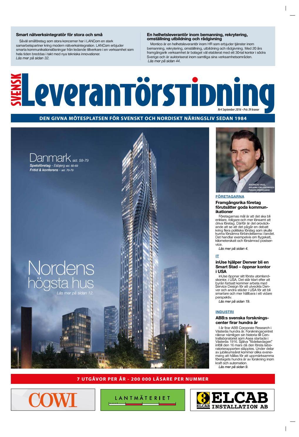 Svensk Leverantörstidning nr-4 2016 by Hexanova Media Group AB - issuu 35f44ab3e133d