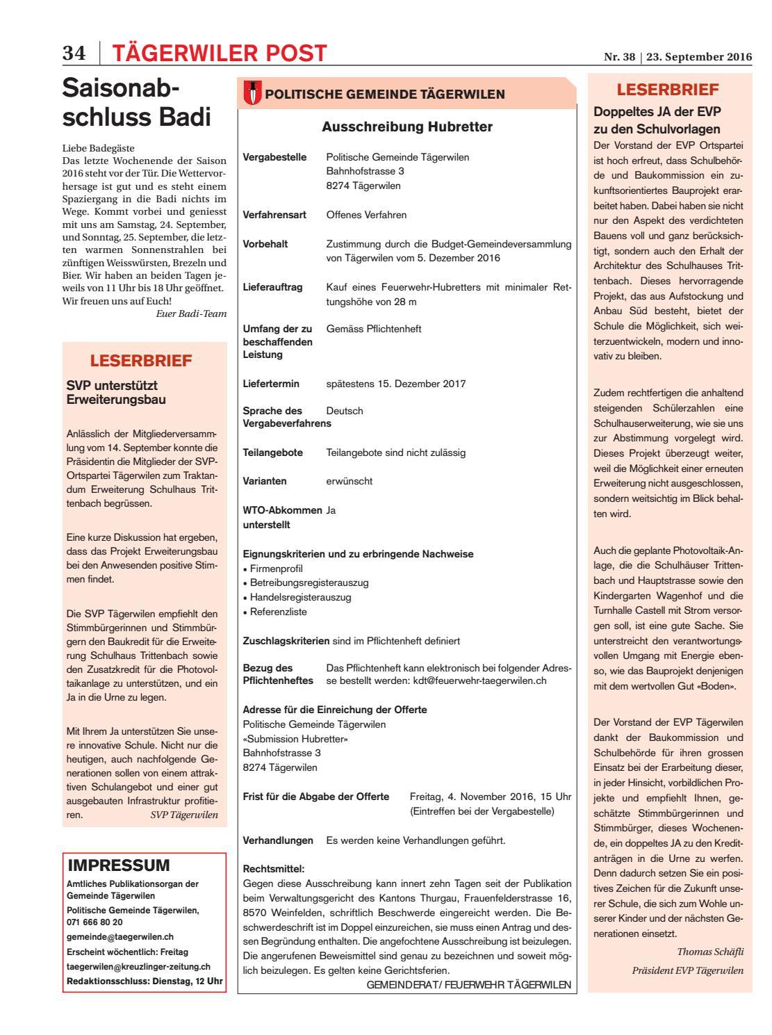 Klz 38 By Kreuzlingerzeitung Issuu