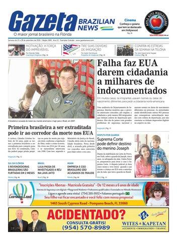 d66a2f37983 Edição 1006 - De 22 a 28 de setembro de 2016. by Gazeta Brazilian ...