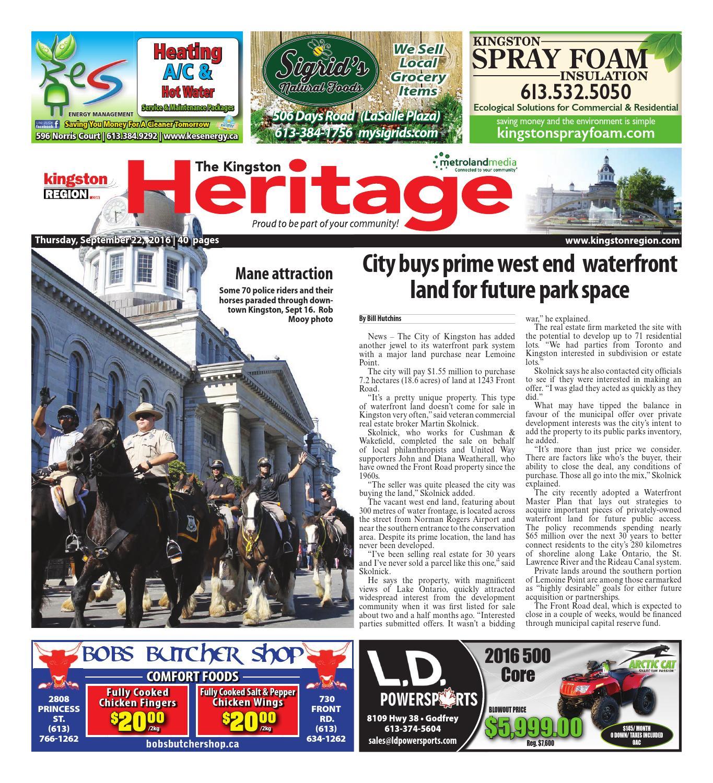 Kingston by Metroland East Kingston Heritage Real Estate