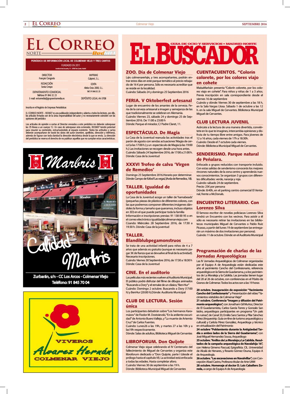 El Correo-El Buscador (Septiembre 2016) nº 96 by El Correo Norte Red ...
