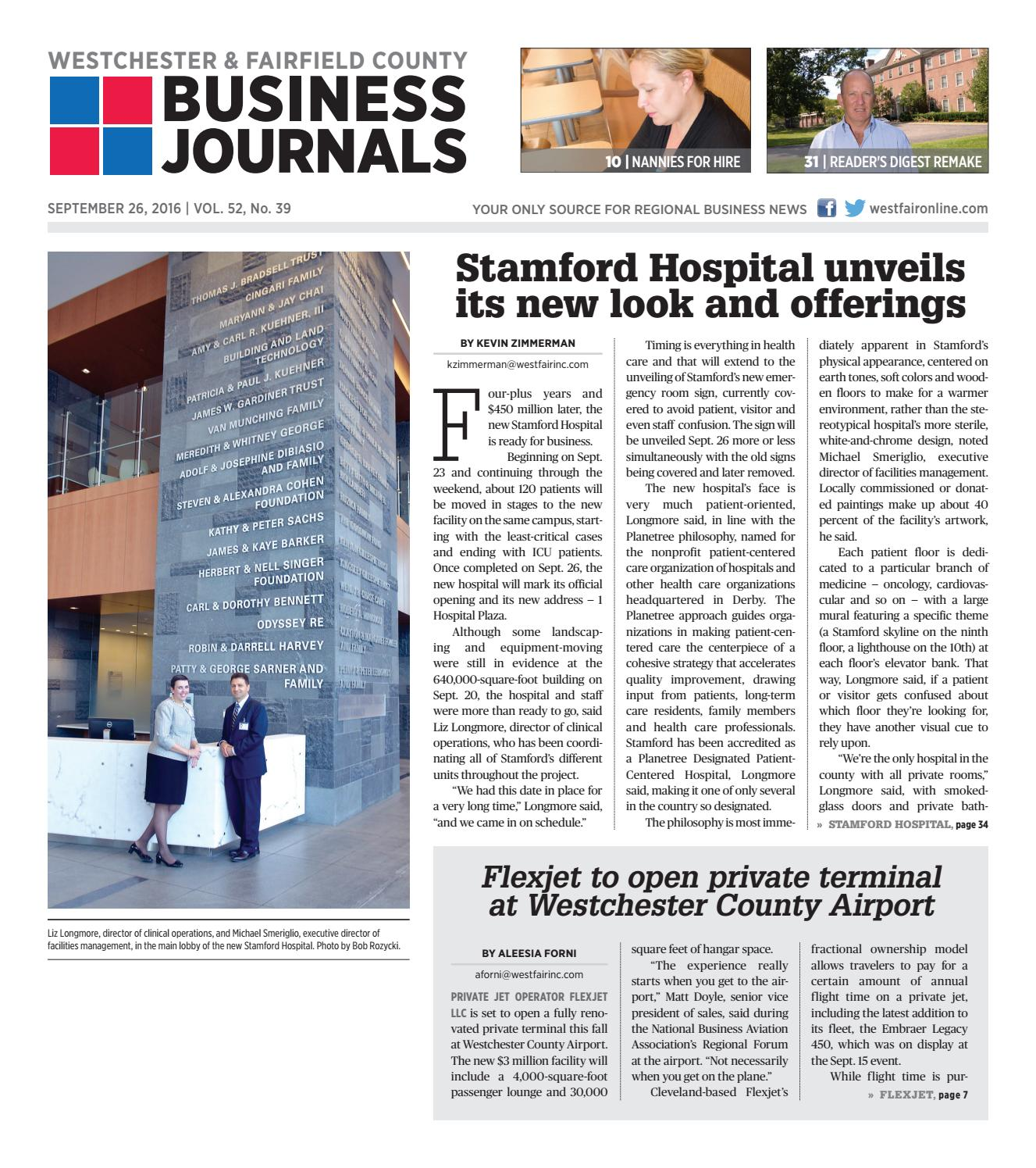 westchester fairfield county business journals 092616 by wag