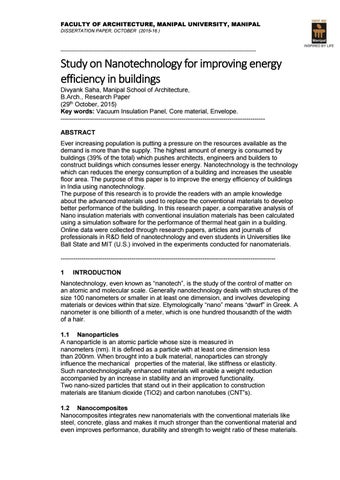 nanotechnology research paper