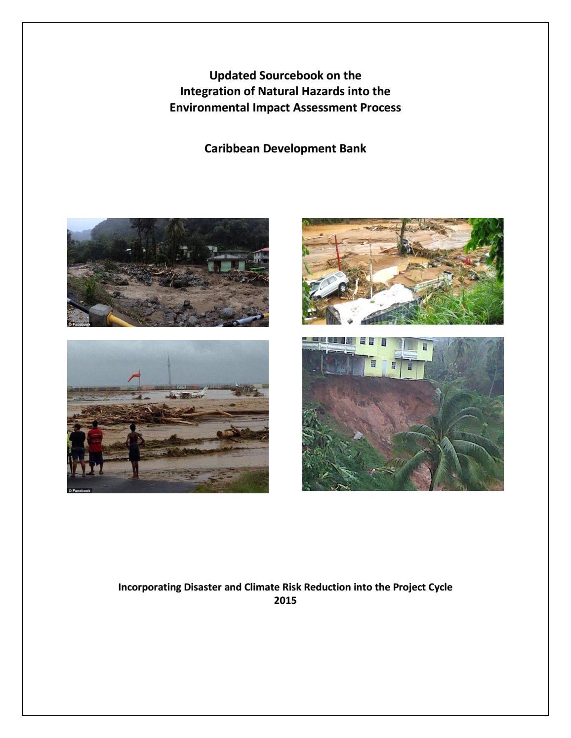 Updated Sourcebook on the Integration of Natural Hazards