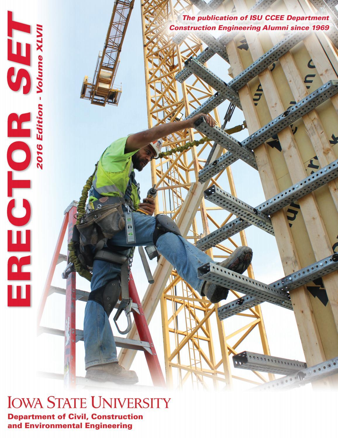 2016 Erector Set-Iowa State University Construction