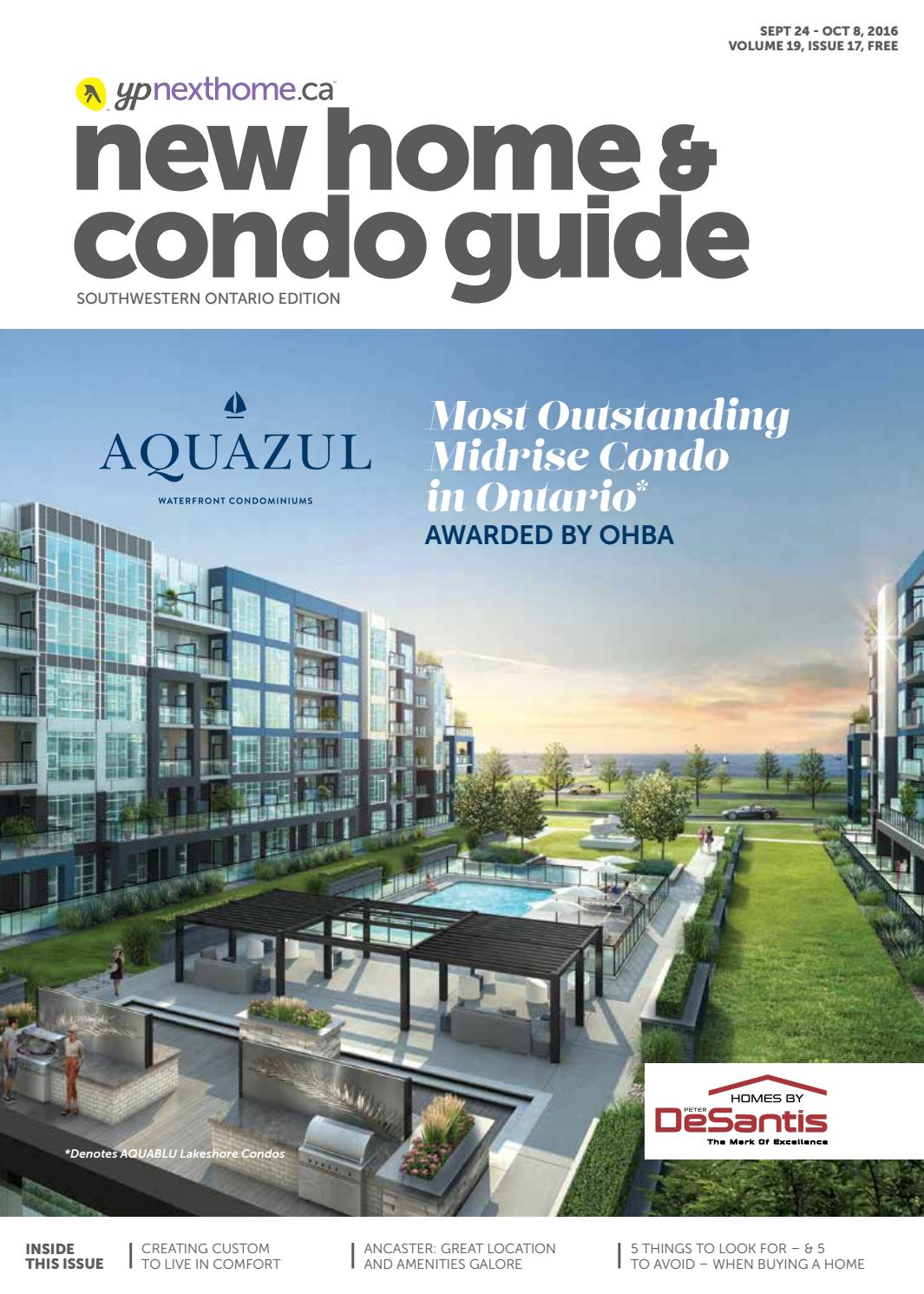 Southwestern Ontario New Home and Condo Guide - Sept 24, 2016 by ...