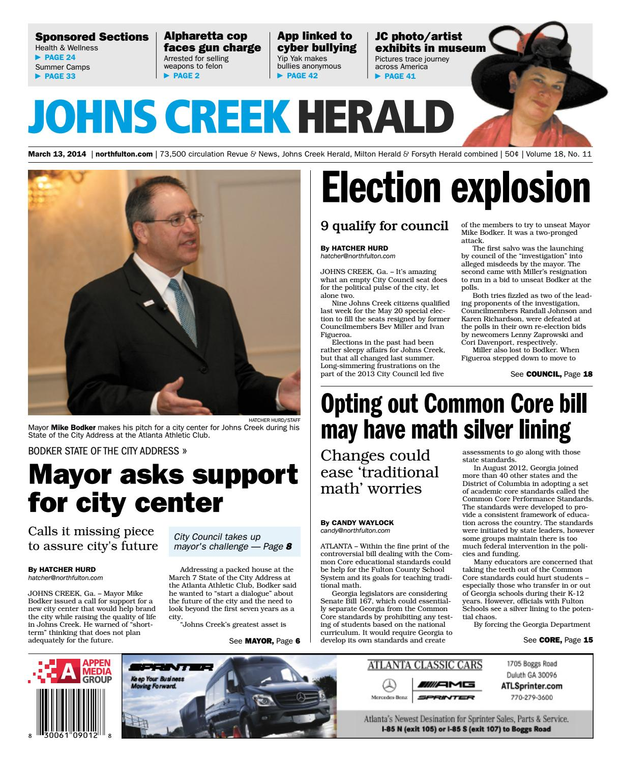 Johns Creek Herald, March 13, 2014 by Appen Media Group - issuu