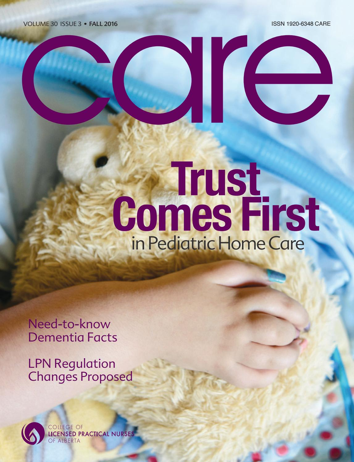 Care fall 2016 college of licensed practical nurses of alberta care fall 2016 college of licensed practical nurses of alberta by college of licensed practical nurses of alberta issuu aiddatafo Choice Image