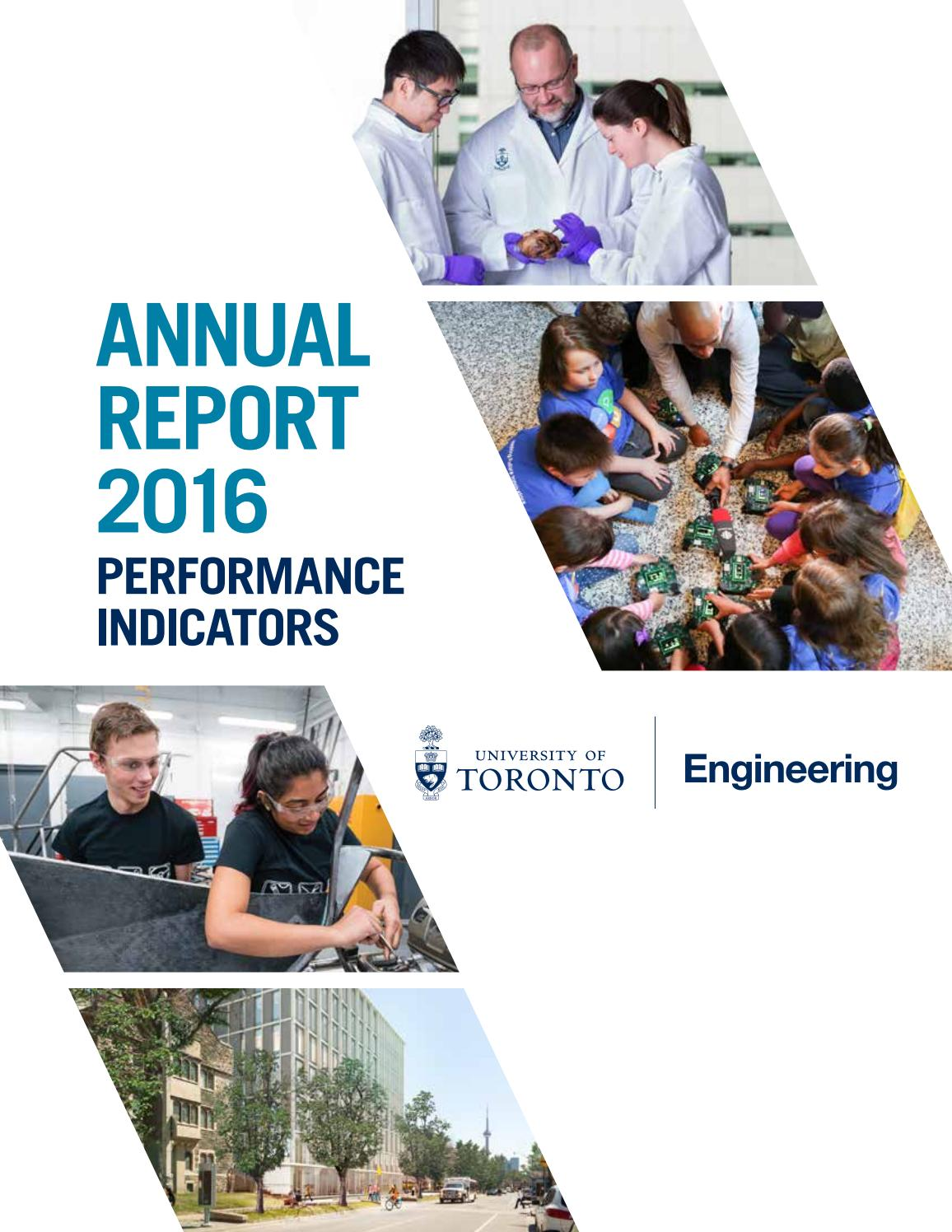 462c966d60e Annual Report Performance Indicators 2016 by University of Toronto Faculty  of Applied Science   Engineering - issuu