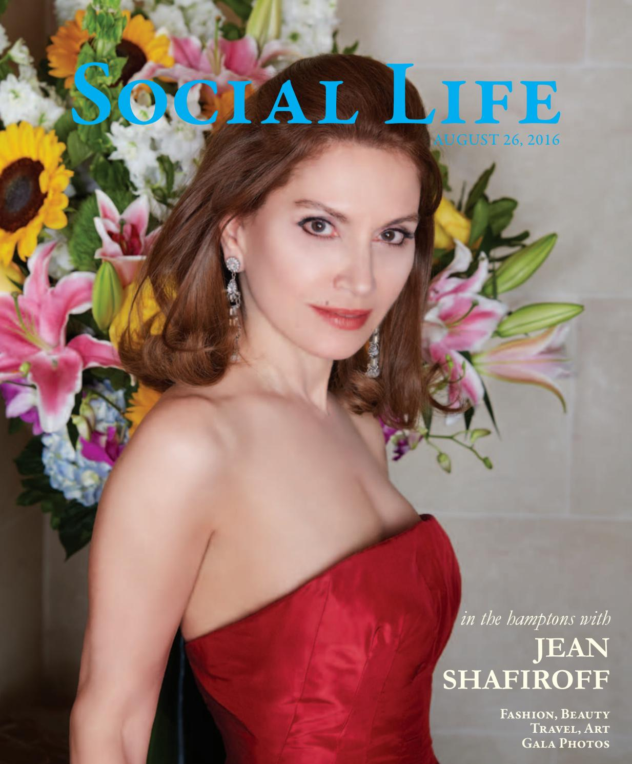 ee5684271749 Social Life - August September 2016 - Jean Shafiroff by Social Life ...