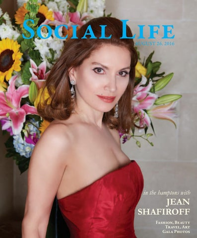 d5df71fa88cd Social Life - August September 2016 - Jean Shafiroff by Social Life ...