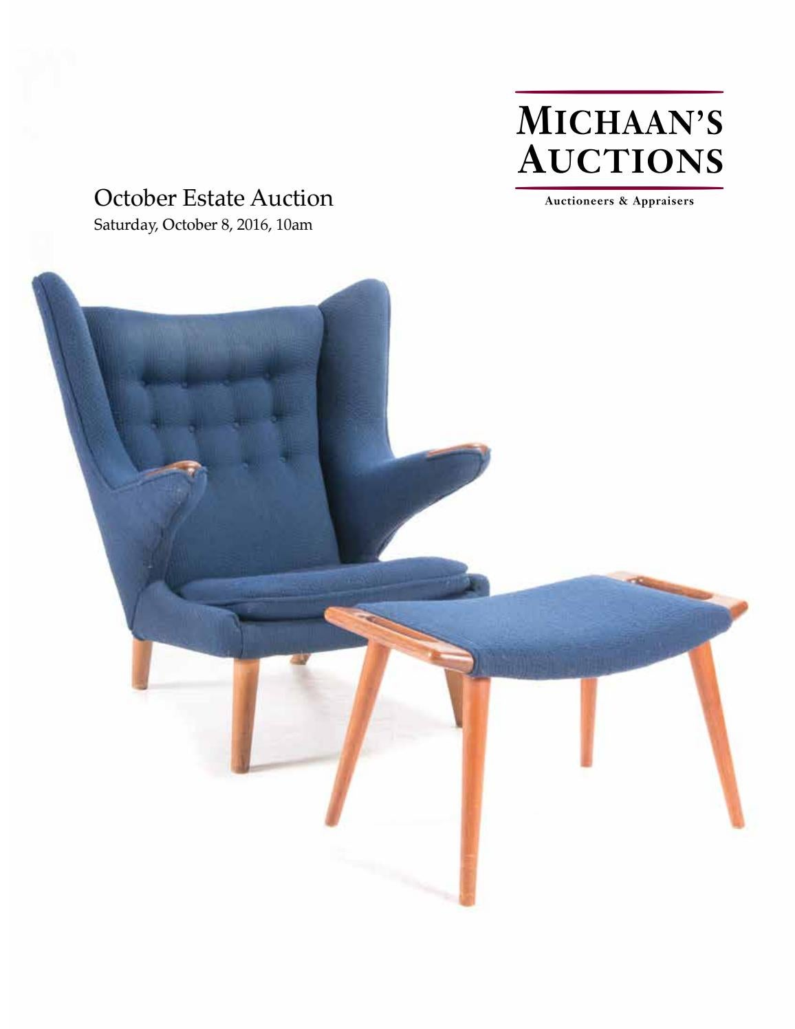 October Issuu Auctions Michaan's By Estate Auction Catalog vNOyn0wm8