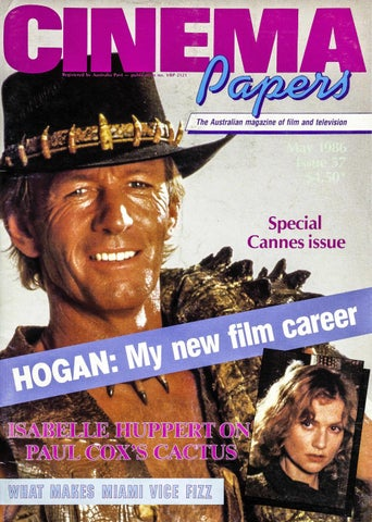 Cinema Papers May 1986 By Uow Library Issuu