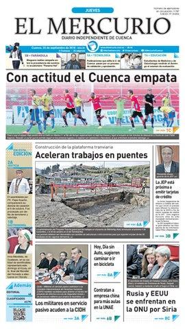 hemeroteca 22-09-2016 by Diario El Mercurio Cuenca - issuu 4020e1a6eaa