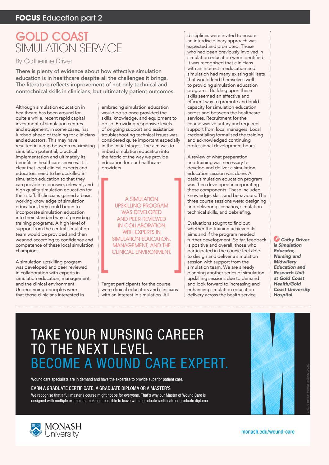 4ecdc93532d ANMJ October 2016 by Australian Nursing & Midwifery Journal - issuu