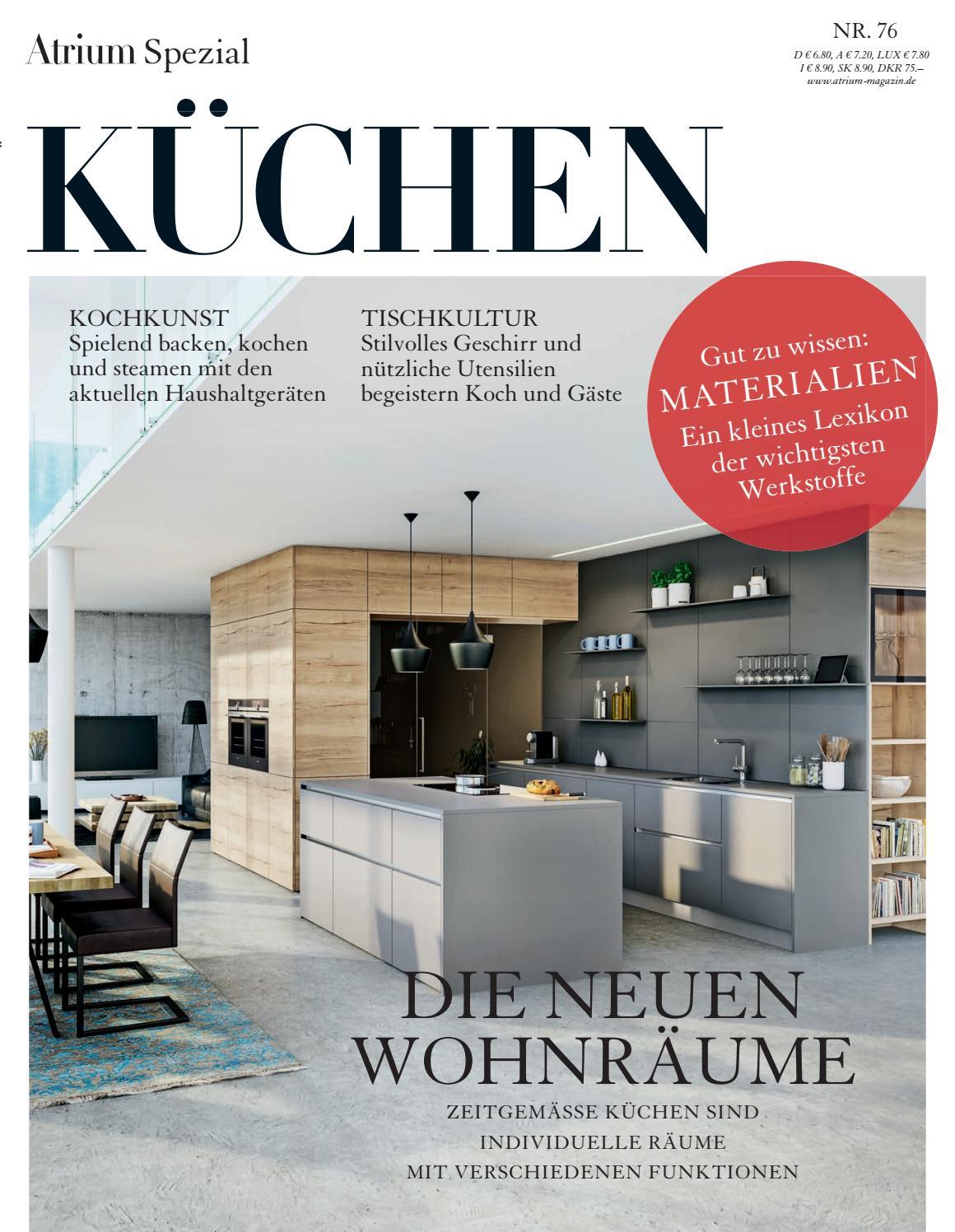 Atrium Spezial U2013 Küchen 2016/17 By Archithema Verlag   Issuu