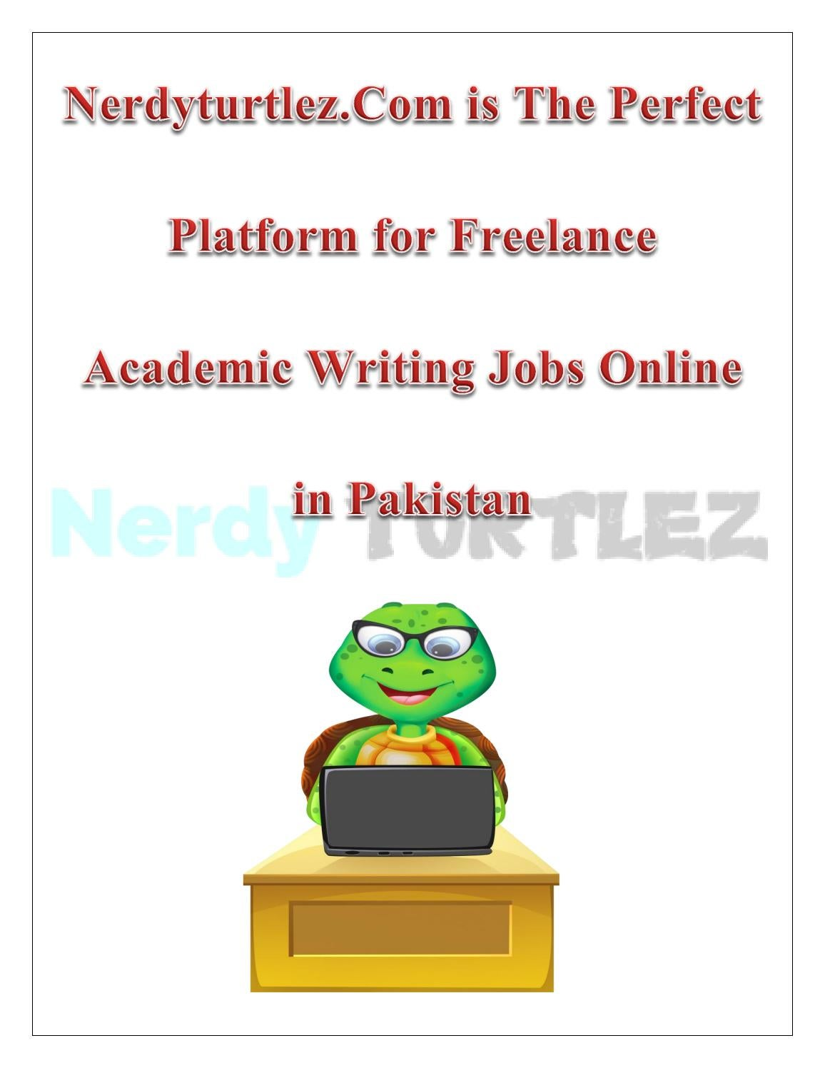 Help to writing essay jobs in pakistan
