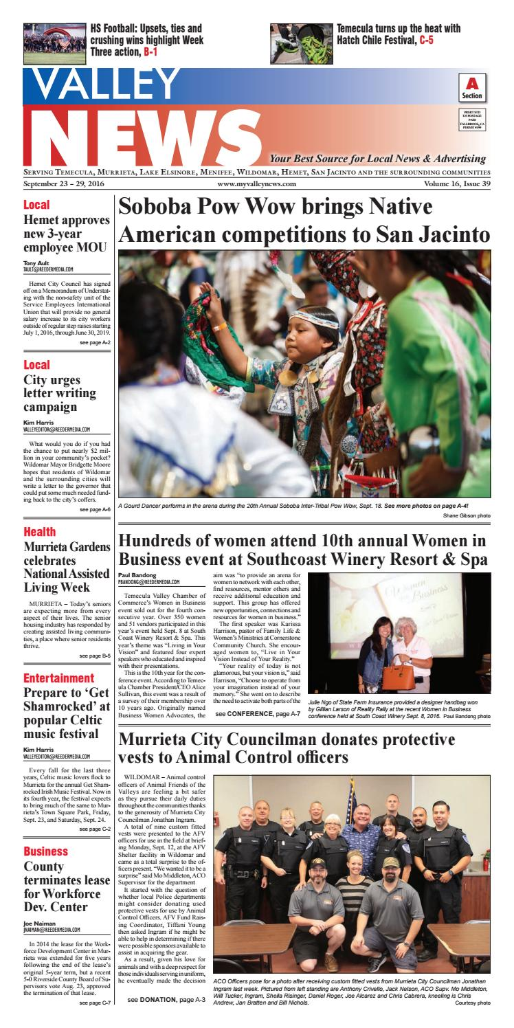 Temecula Valley News by Village News, Inc. - issuu