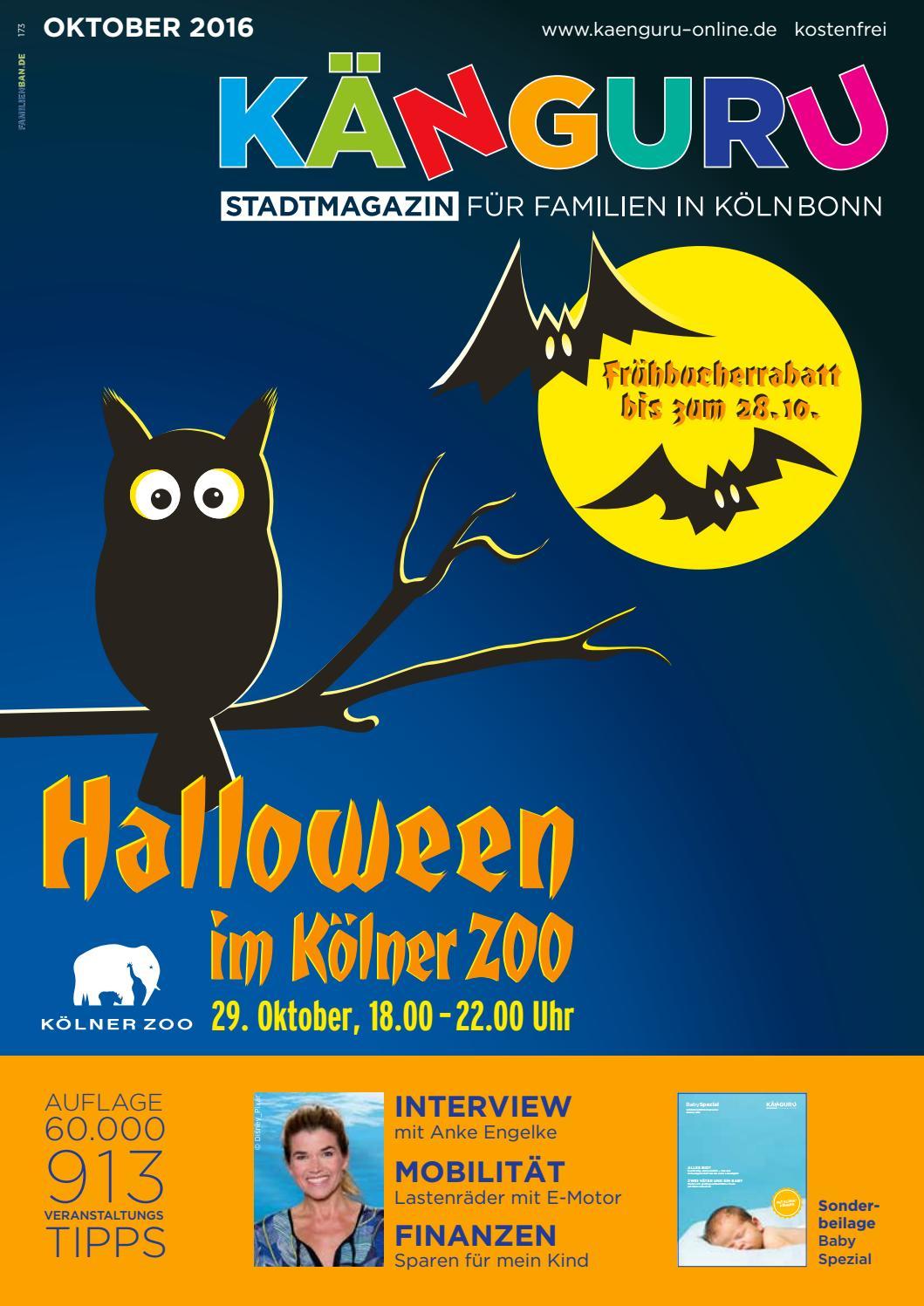 KÄNGURU Stadtmagazin für Familien in KölnBonn Oktober 2016 by ...