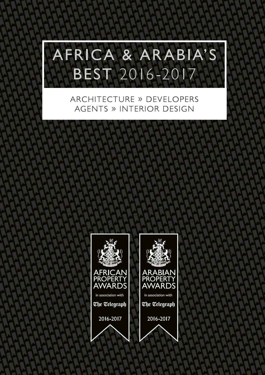Africa & Arabia's Best 2016-2017 by International Property Media - issuu