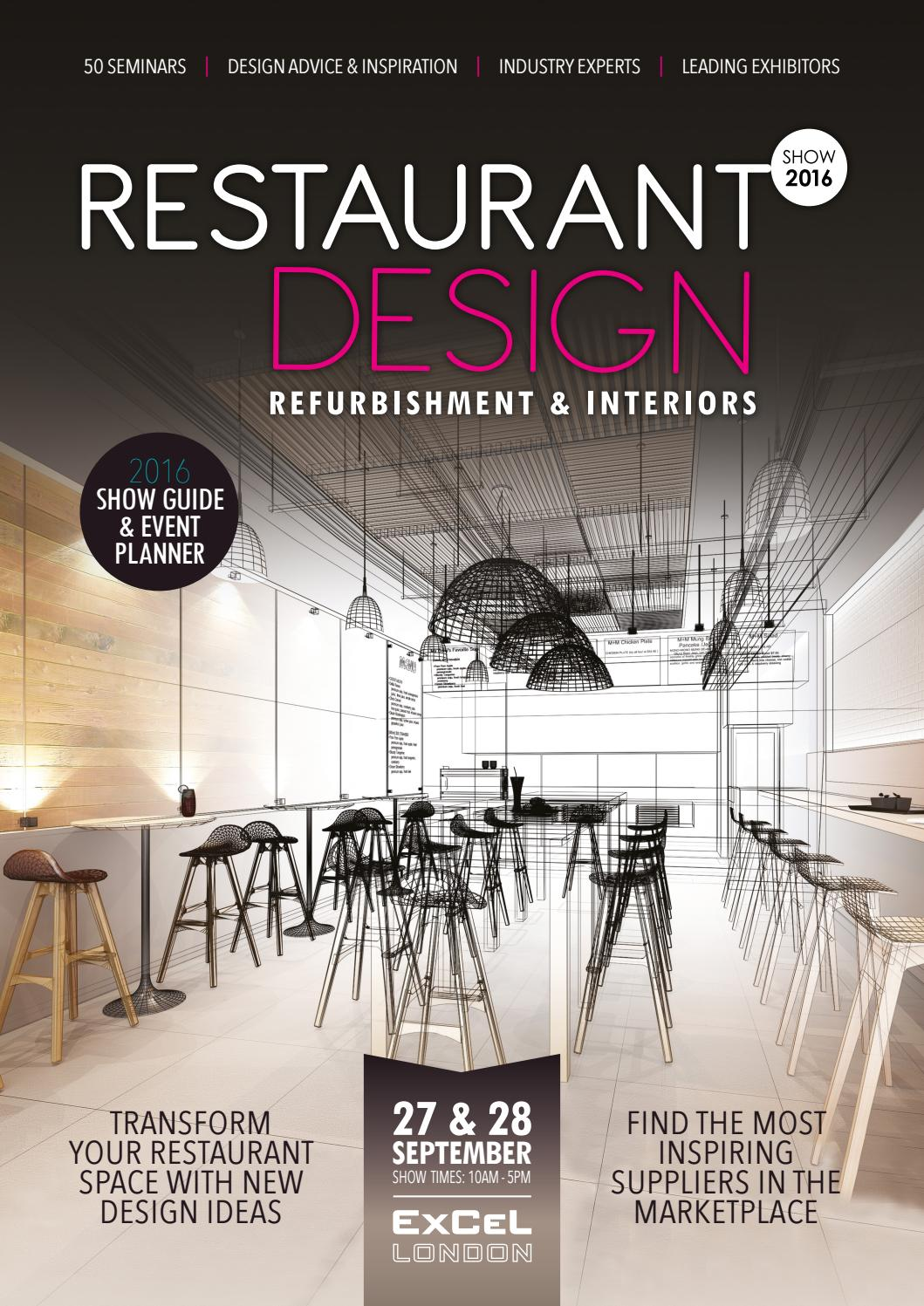 Restaurant design show guide by prysm group issuu