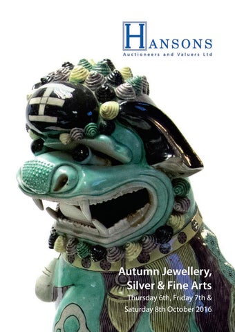 25c3d7dfcc3 Hansons Auctioneers by Jamm Design Ltd - issuu