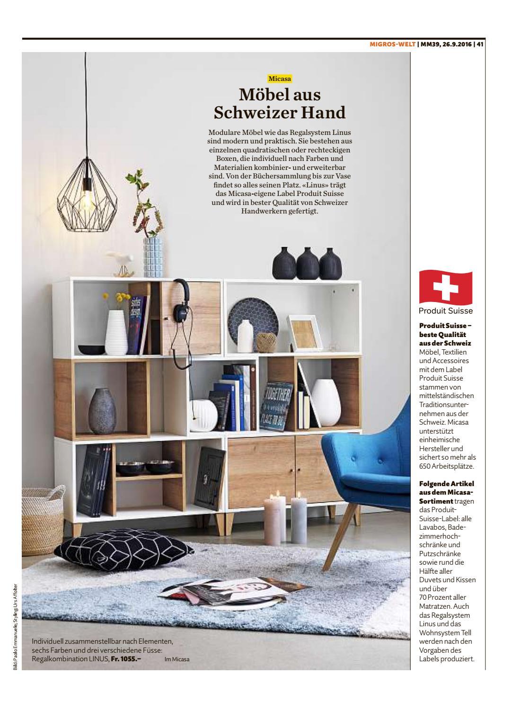Migros Magazin 39 2016 D Ne By Migros Genossenschafts Bund Issuu