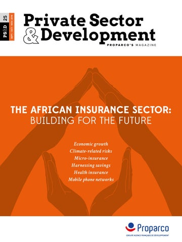 The African insurance sector: building for the future by