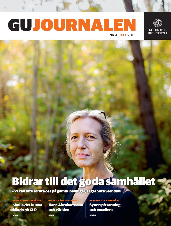 d103b038386e GU Journalen 4-2016 by University of Gothenburg - issuu