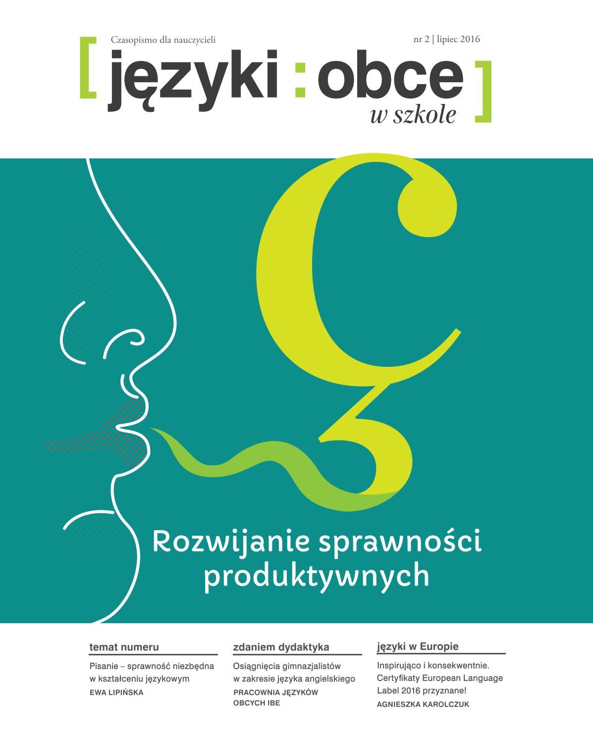 Języki Obce W Szkole Nr 22016 By Fundacja Rozwoju Systemu Edukacji