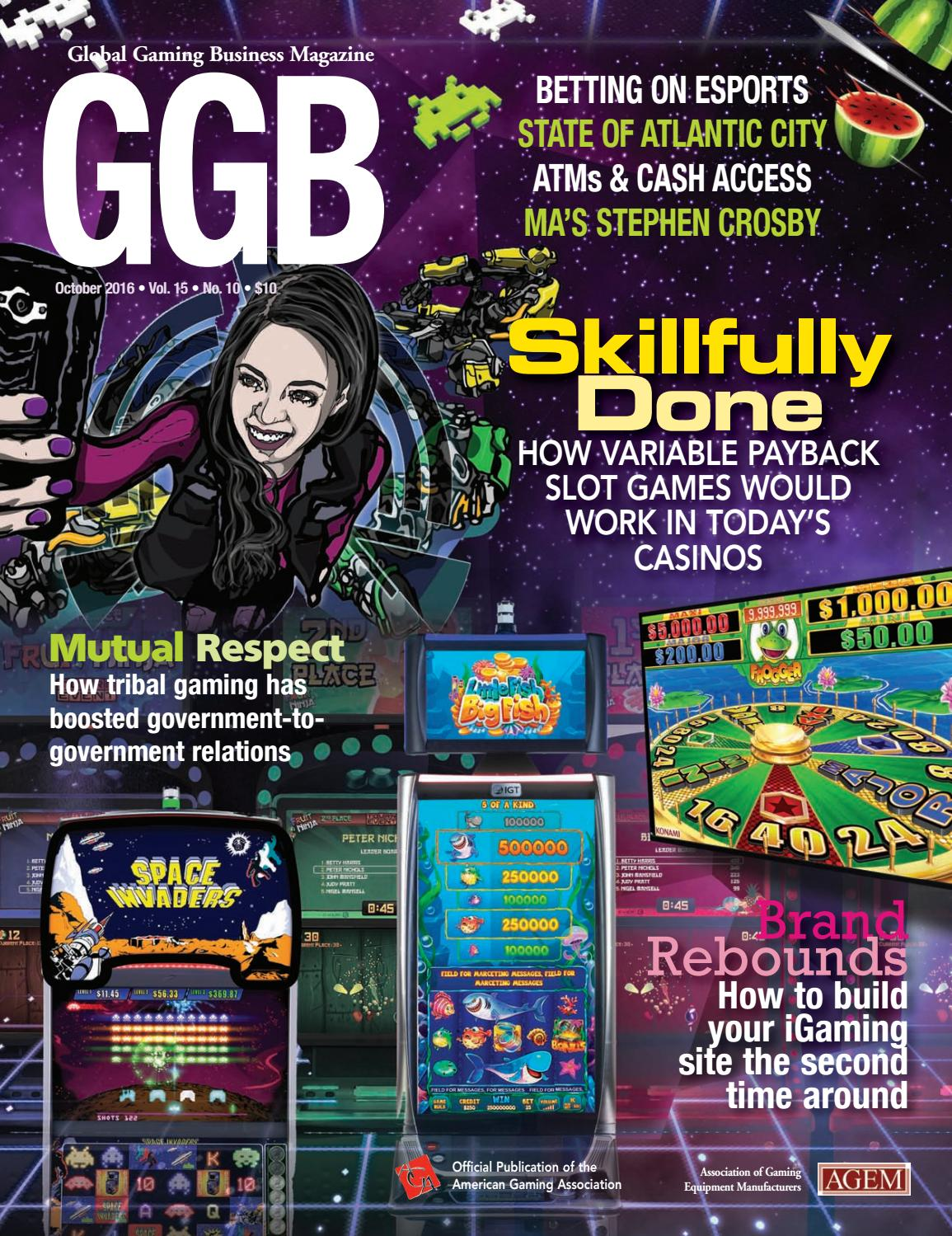 Short Circuit Slot Machine Williams Wms Machines Reel Gambling Global Gaming Business October 2016 By Issuu