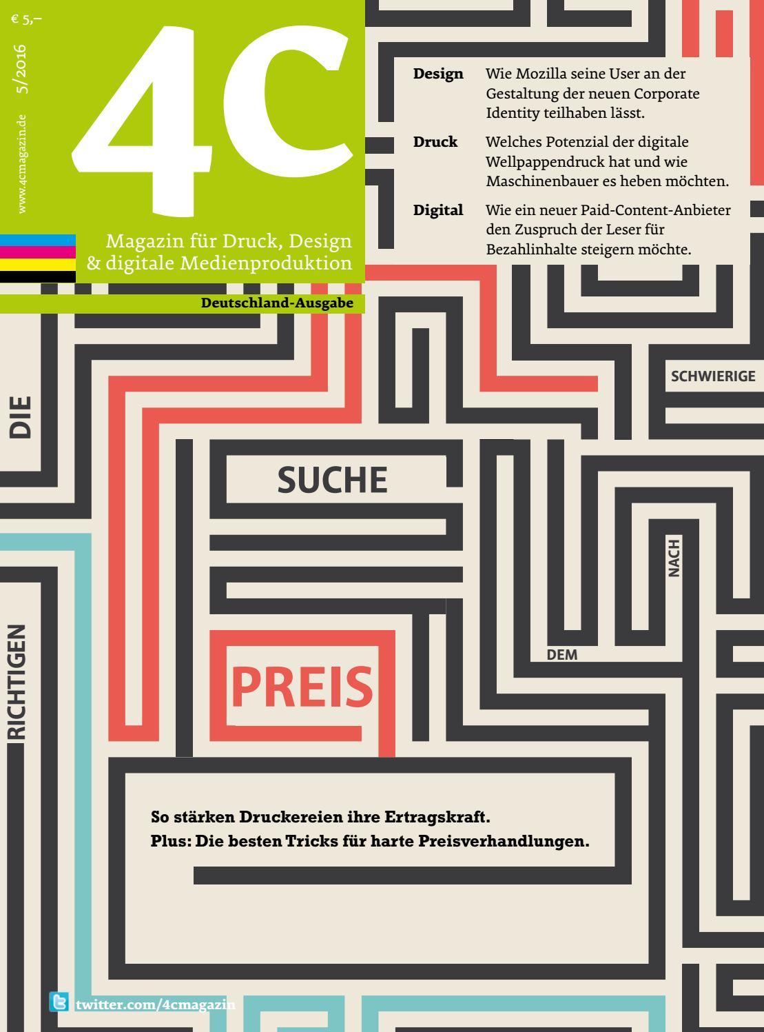 4c | Deutschland-Ausgabe 5/2016 by 4cmagazin - issuu