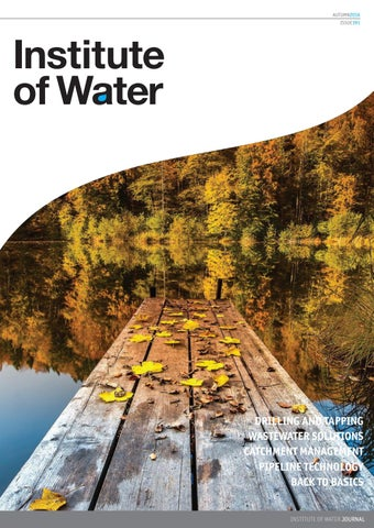Institute Of Water Journal 191 By Distinctive Publishing Issuu
